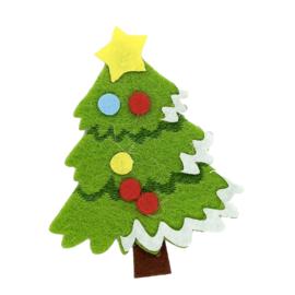 vilt kerstboom applicatie