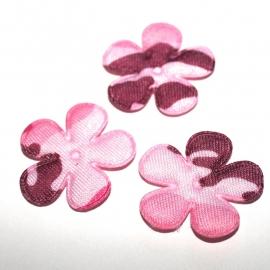 Bloem army print roze 35mm