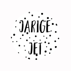 (FB801) jarige jet WIT