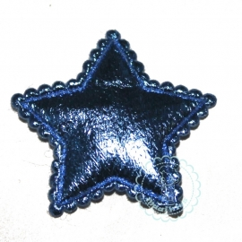 Ster metallic blauw