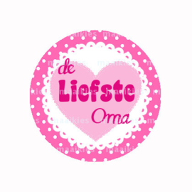 (FB610) Liefste oma rozehart