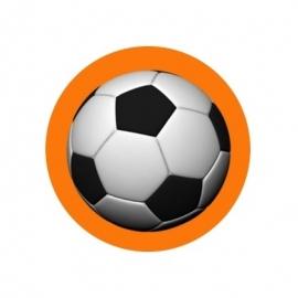 (FB64) Voetbal oranje