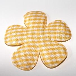 47 mm gele ruitbloem