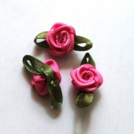 Super kwaliteit roosjes donkerroze framboos