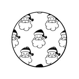 FB754 b/w santa