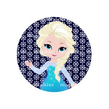(FB940) Elsa sneeuwvlokken