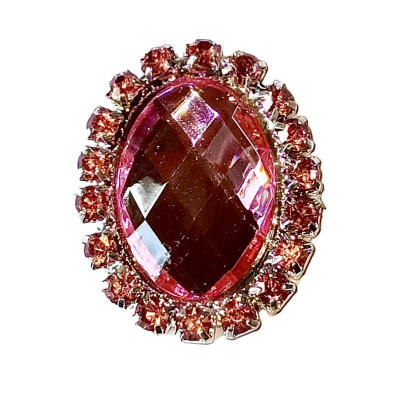 luxe steen roze