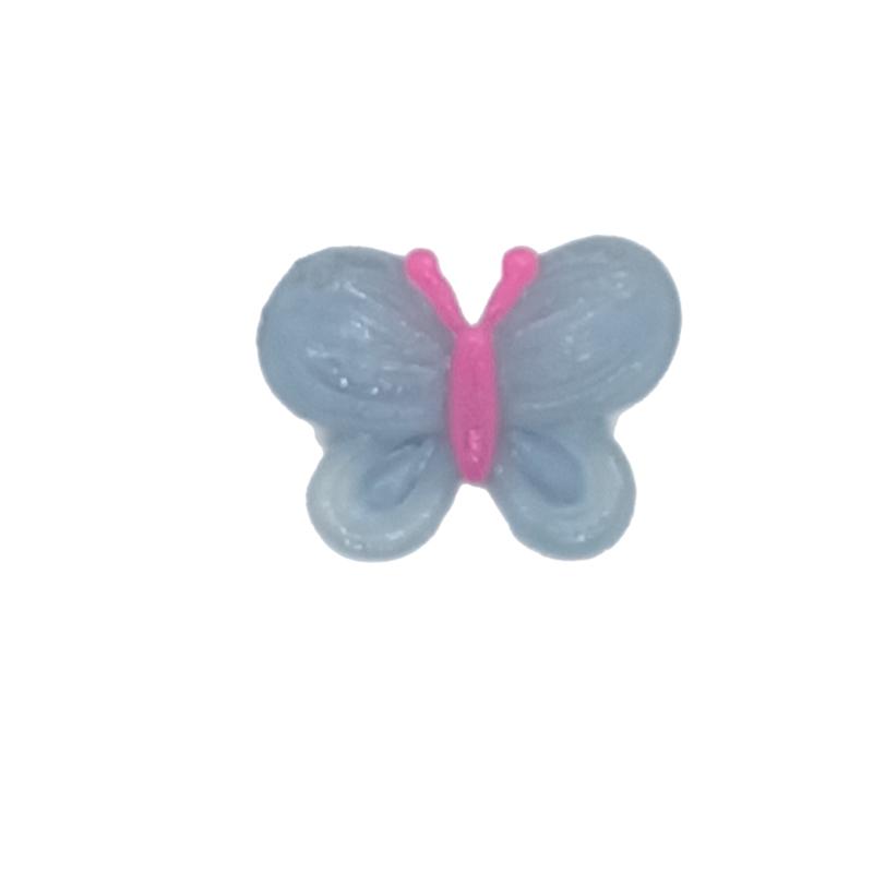 Vlinder flatback  blauw
