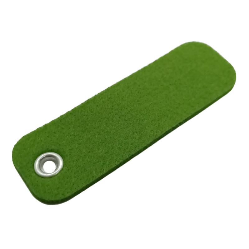 Sleutelhanger vilt rechthoek Gras groen (24)