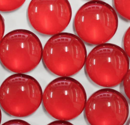 12mm Cabochon rood