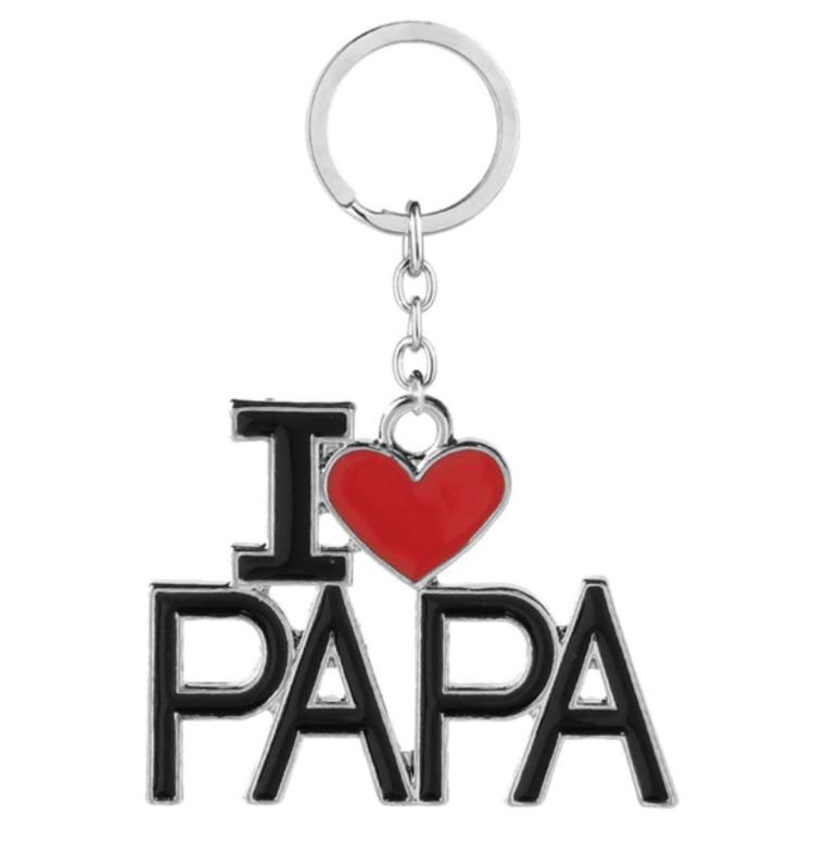 sleutelhanger i love papa