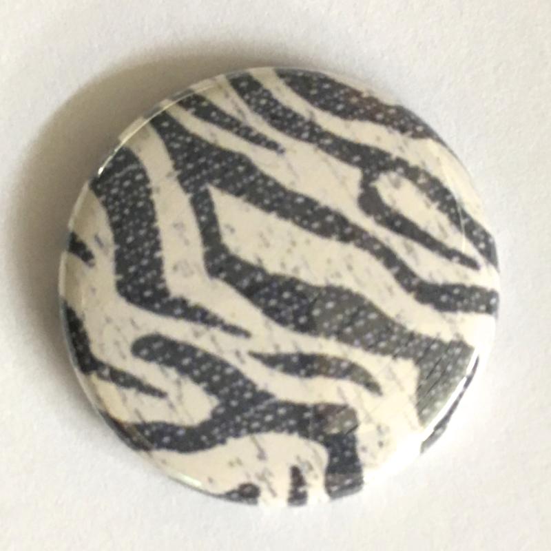 (FB906) zebra creme grijs