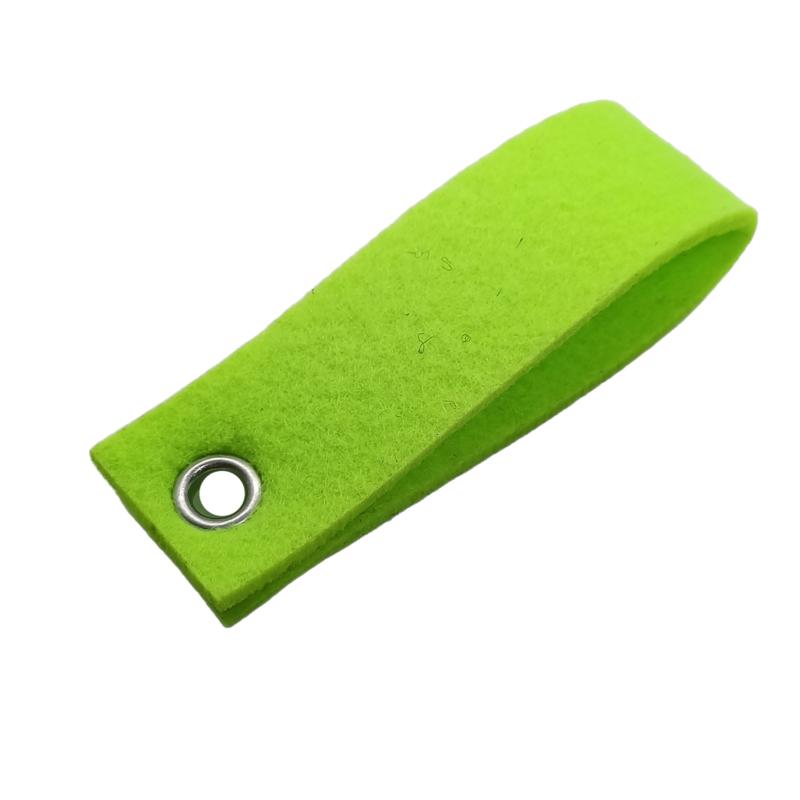 Sleutelhanger vilt neon groen(37)