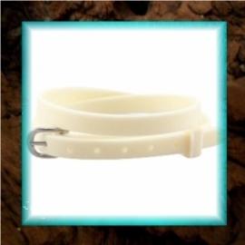 Chill armbandje Off white - 37 x 0,5 cm