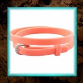 Chill armbandje Tropical orange - 37 x 0,5 cm