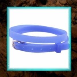 Chill armbandje Cobalt blue - 37 x 0,5 cm