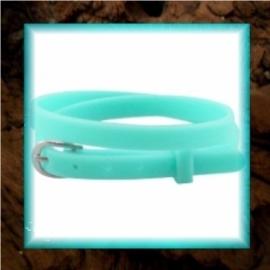 Chill armbandje Bright green - 37 x 0,5 cm