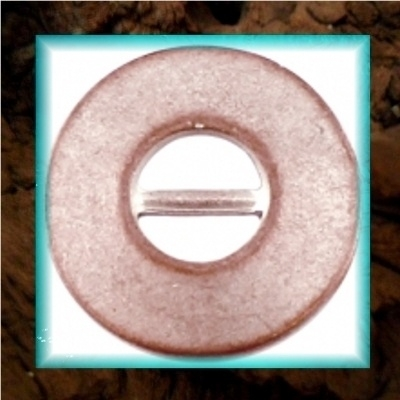 DQ metaal schuiver Cirkel open - Champagne rose