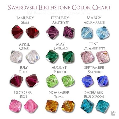 Swarovski Crystal Bead Birth