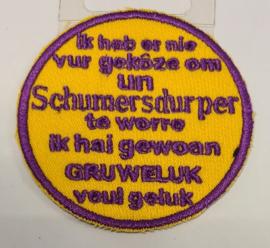 Tegeltjes tekst Schumers durp