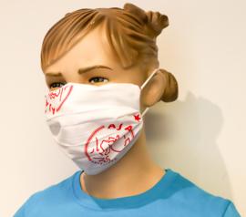 Wasbaar mondkapje AJAX