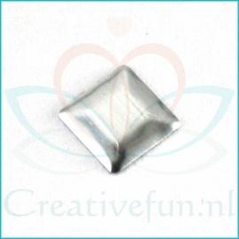 Square Silver 3*3 mm