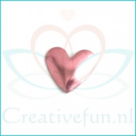 Heart 6*7 Pink (± 300 Stuks)