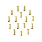Nailheads Rechthoekjes Gold