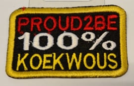 Proud2be 100 % koekwous