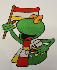 Oetel met vlag en Pilske
