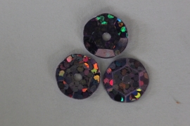 Lila met glitter 10 mm