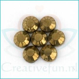 Rhinestone Gold Hematite