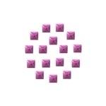 Nailheads Square Lt Purple SS10