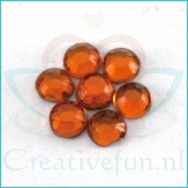 Rhinestone Orange
