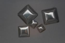 Square mixed Silver