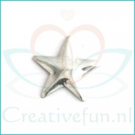 Star 10*10 Silver (± 150 Stuks)