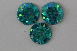 Capri blue met glitter 8 mm