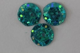 Capri Blue met glitter 10 mm