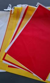 PVC Vlaggenlijn rechthoek groot