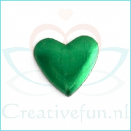 Heart 10*10 Emerald (± 200 Stuks)