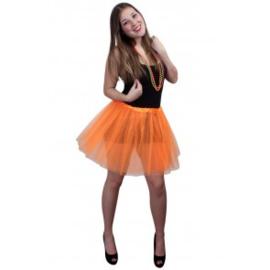 Tule rok Oranje one size