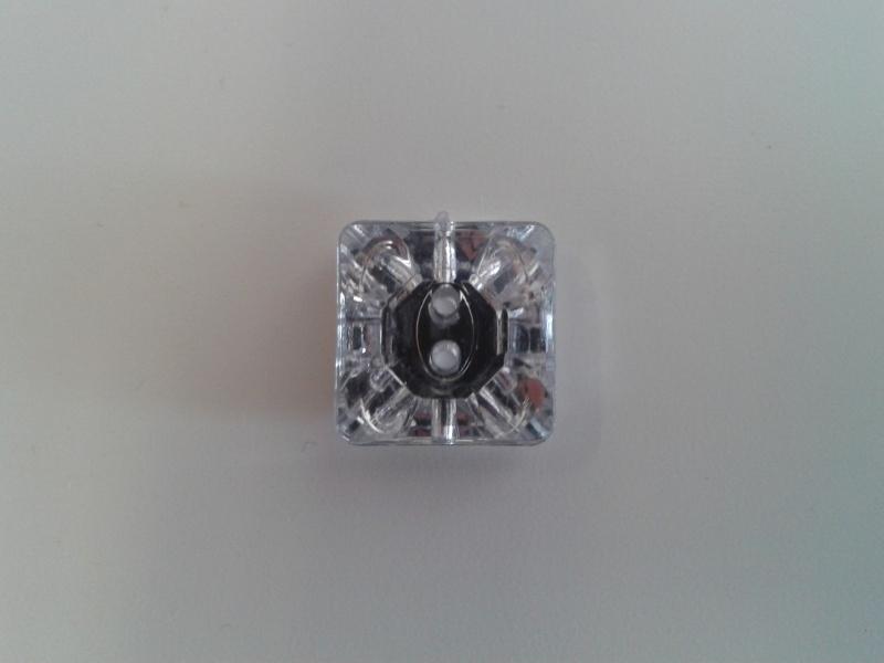 crystal Square kunststof (middel)