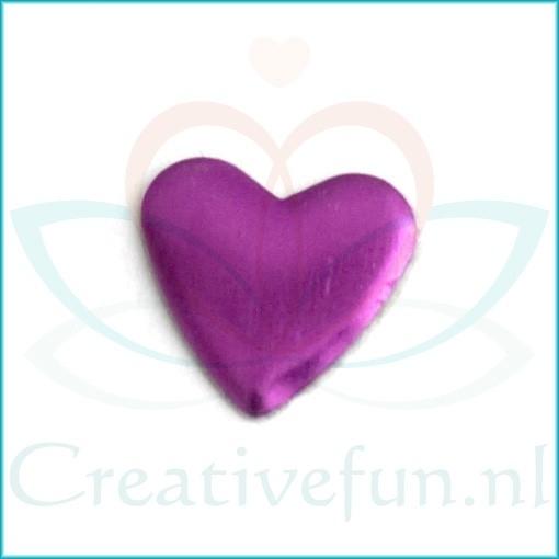 Heart 10*10 Amethyst (± 200 Stuks)