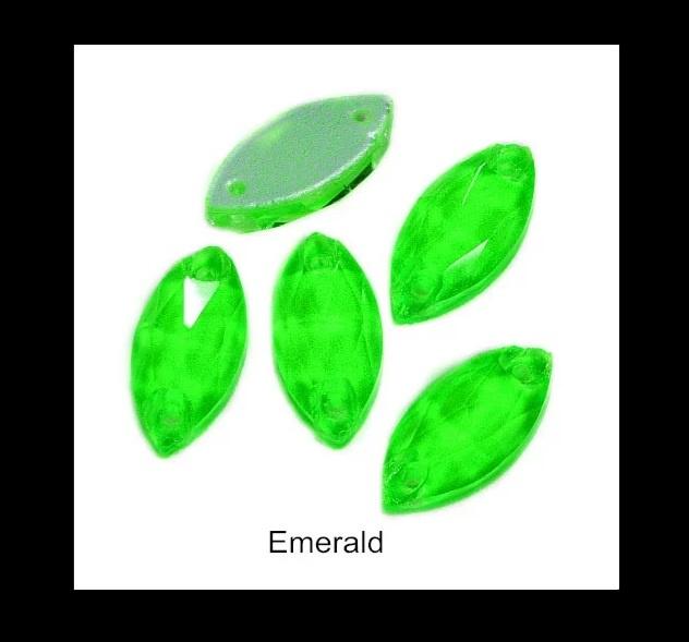 Neon Emerald Eye 13*22 mm