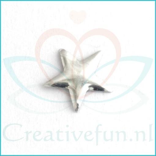 Star 8*8 Silver (± 175 Stuks)