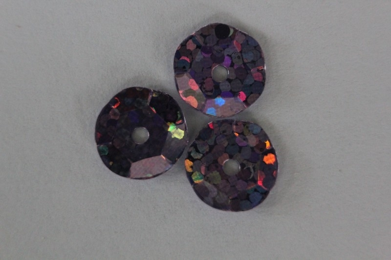 Fuchsia met glitter 8 mm