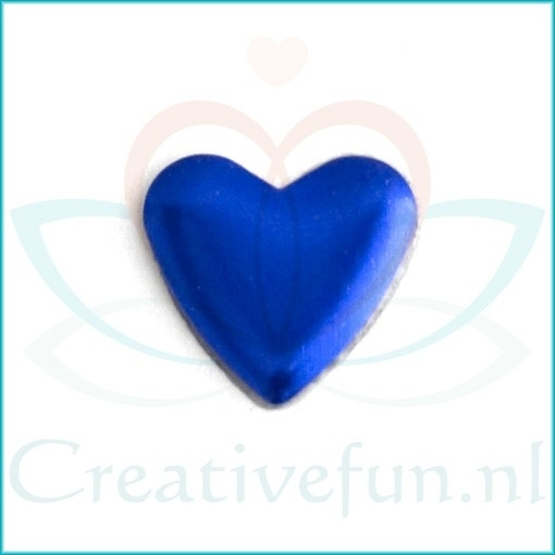 Heart 10*10 Sapphire (± 200 Stuks)