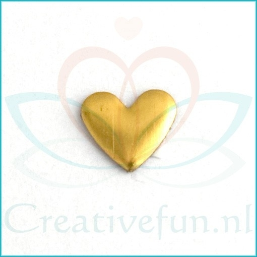 Nailheads Heart Gold 6*7