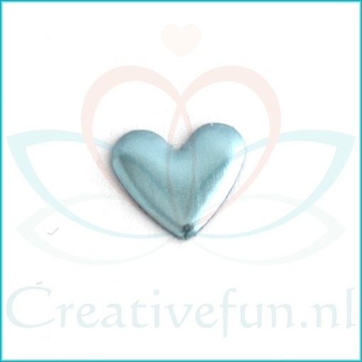 Heart 6*7 Sky-blue (± 300 Stuks)