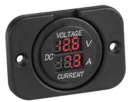 Dashboard | Volt- Ampère meter | Osculati